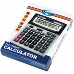 Calculator office 12 digits, dual power,
