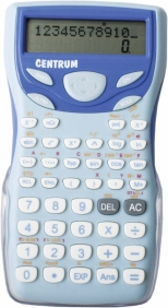 Calculator stiintific cu capac glisant, 12 digits, 200 functii, 2 linii pe display, 160*80*15mm