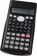 Calculator stiintific cu capac glisant, 12 digits, 240 functii, 2 linii pe display, 160*80*15mm