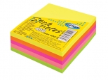 Notes adeziv 76x76mm - 400 coli , 5 culori NEON combinate