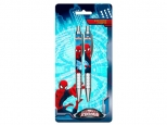Set 2 pixuri cu mecanism, in blister cartonat SPIDERMAN