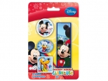Set 4 radiere in forma francizei, design diferit 4 personaje MICKEY CLUB HOUSE