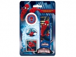 Set 4 radiere in forma francizei, design diferit  SPIDERMAN