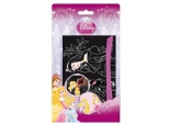Set creativ magic colorare prin razuire PRINTESE DISNEY