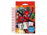 Set de colorat contine: 25 coli de colorat, 18 carioci, 25 stickere SPIDERMAN