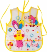 "Sort protectie antimurdarire, uzual pentru pictura, model ""little friends"" 54x44 cm"