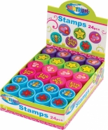 Stampile cu diametrul de 25 mm. Modele asoratte pe display/26buc. Modele animale domestice.